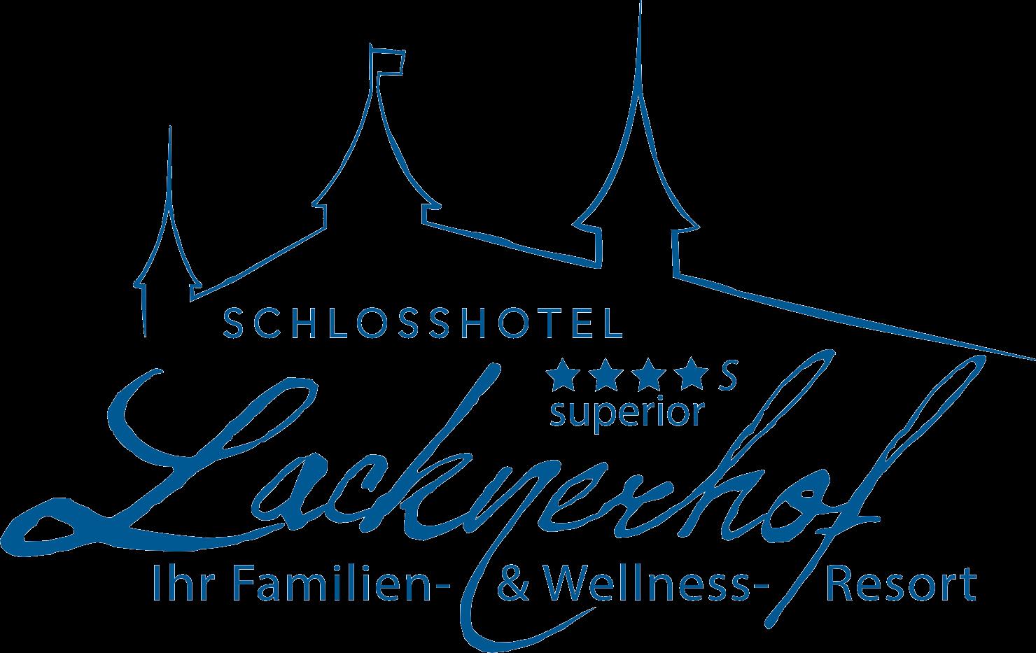 Logo Seminarhotel Lacknerhof in Flachau blau